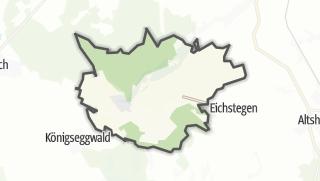 Cartina / Hoßkirch