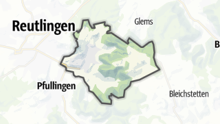 Karte / Eningen unter Achalm