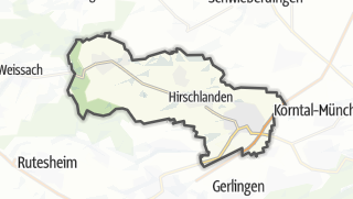地图 / Ditzingen