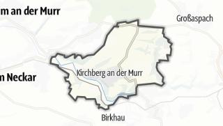 מפה / Kirchberg an der Murr