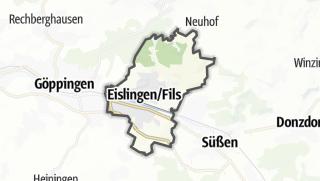 Karte / Eislingen/Fils