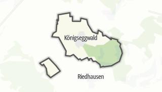 Cartina / Königseggwald