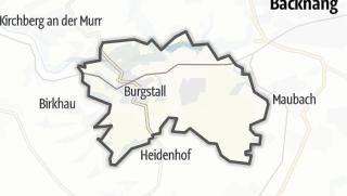 מפה / Burgstetten