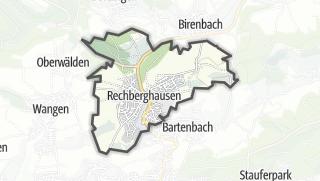 Karte / Rechberghausen