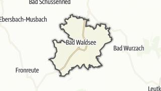 Cartina / Bad Waldsee