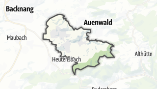 מפה / Weissach im Tal