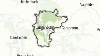 地图 / Langenburg