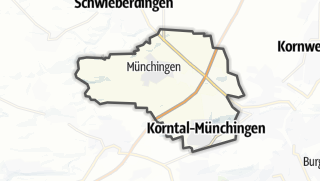 地图 / Korntal-Münchingen