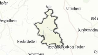 Cartina / Creglingen