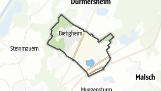 Karte / Bietigheim