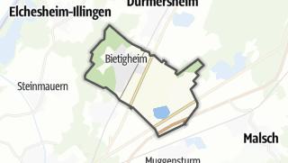 Mapa / Bietigheim