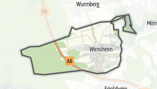 Cartina / Wimsheim