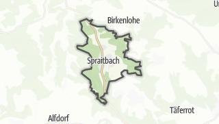 地图 / Spraitbach