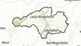 Cartina / Lauda-Königshofen