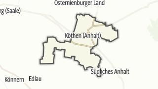 Carte / Köthen (Anhalt)