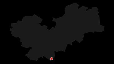 Cartina / Stoneman Miriquidi: 2 paesi, 9 montagne e 4400 m di dislivello, un itinerario unico per la mountain bike in Germania
