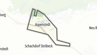 Mapa / Aspenstedt