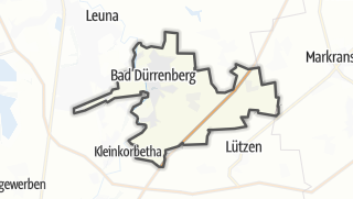 Cartina / Bad Dürrenberg