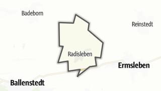 Mapa / Radisleben