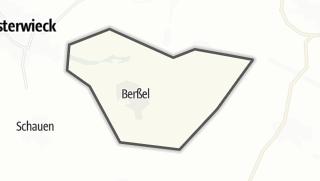 Mapa / Berßel