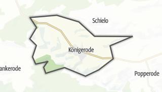 Mapa / Königerode