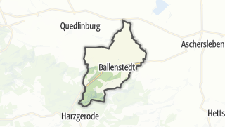 Mapa / Ballenstedt