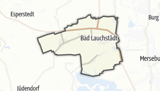 Cartina / Bad Lauchstädt