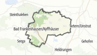 Carte / Bad Frankenhausen/Kyffhäuser