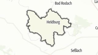 Cartina / Bad Colberg-Heldburg