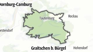 Karte / Tautenburg
