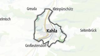 Karte / Kahla