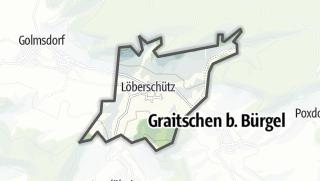 Karte / Löberschütz