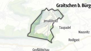 Karte / Jenalöbnitz