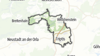 Mapa / Triptis