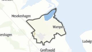 Carte / Neuenkirchen (bei Greifswald)