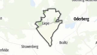 Cartina / Liepe