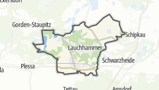 Cartina / Lauchhammer