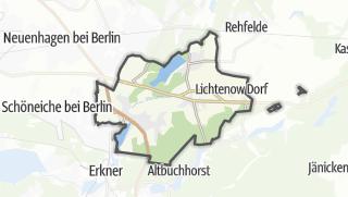 Cartina / Rüdersdorf