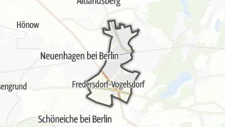 Cartina / Fredersdorf-Vogelsdorf