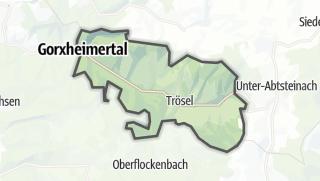 Karte / Gorxheimertal