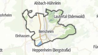 Karte / Bensheim