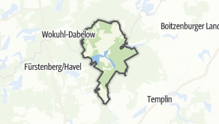 Karte / Lychen