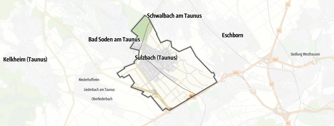 Карта / Походы в Sulzbach (Taunus)