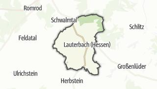 Cartina / Lauterbach (Hessen)