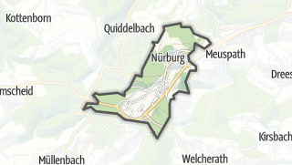 Cartina / Nürburg
