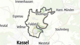 Karte / Fuldatal