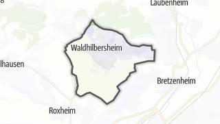 Karte / Guldental
