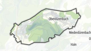 地图 / Oberdürenbach
