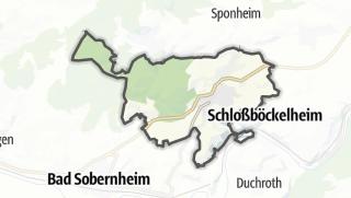 Karte / Waldböckelheim