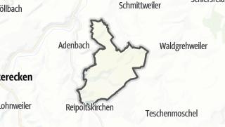 Karte / Becherbach